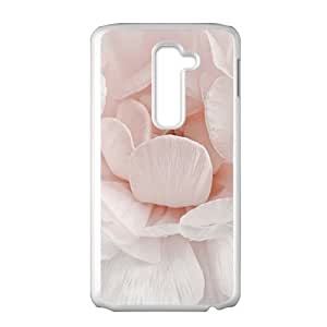 Elegant White Flower Fashion Personalized Phone Case For LG G2 by ruishernameMaris's Diary