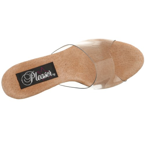 Pleaser Belle-301 Ladies Pantolette Clr-tan / Clr