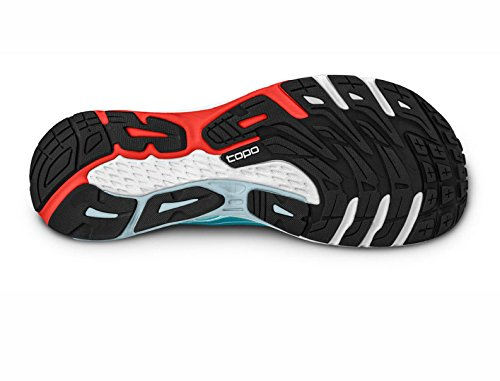 Topo Womens Ultrafly Running Shoes & Workout Headband Bundle Ice / Red FfAe0WGr0
