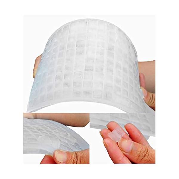 Yeemg Vaschetta del Ghiaccio Stampo per Cubetti di Ghiaccio in Silicone 160 Griglia Creatore di Cubi Muffa Congelata… 4 spesavip