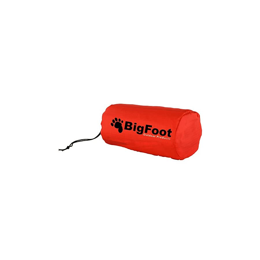 Bigfoot Blizzard Micro Emergency Survival Bivvy for Go Bag (2 Pack Bivvy)