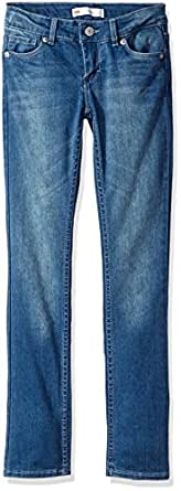 Levi's Girls' 711 Skinny Jean, Blue Winds, 7