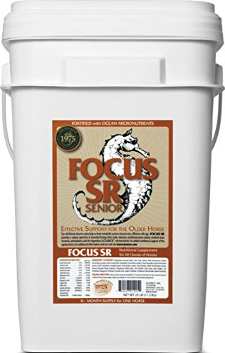 FOCUS SR MICRONUTRIENT FOR SENIOR HORSES - 25 POUND by DavesPestDefense