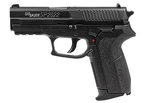amazon com sig sauer sp2022 co2 bb pistol metal slide mag