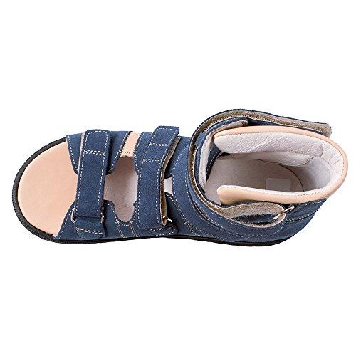 Memo Grunn 1ch Semsket Cp Barn Afo Spenne Sandal