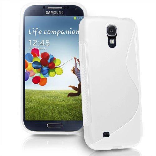 10 opinioni per Custodia protettiva morbida Sline BIANCO di Silicone TPU Case Cover per Samsung
