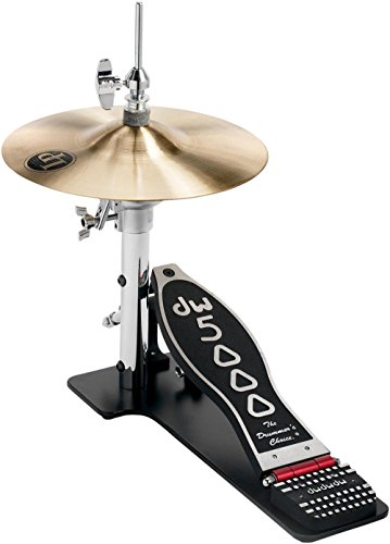 DW 5000 Series Lowboy Hi-hat Stand With Cymbals ()