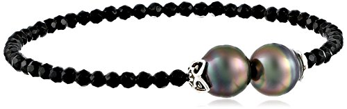 TARA-Pearls-Natural-Color-Tahitian-Cultured-Pearl-and-Onyx-Bangle-Bracelet-9-10mm