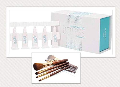 - Jeunesse Instantly Ageless 25 Vials. 4 FREE travel size makeup brushes and case included with purchase!