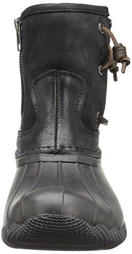 Boot Rain Seasonal Top Pearl Womens sider Black Saltwater Sperry B0xRwq140