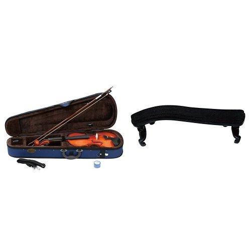 STENTOR バイオリン SV-120 1/10 と 肩当て のセット   B01MEGRW8F