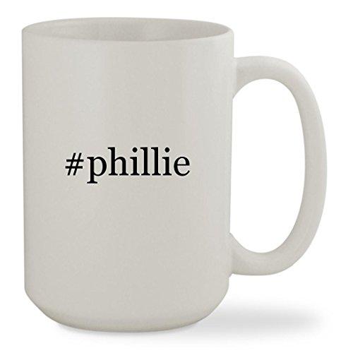 #phillie - 15oz Hashtag White Sturdy Ceramic Coffee Cup Mug