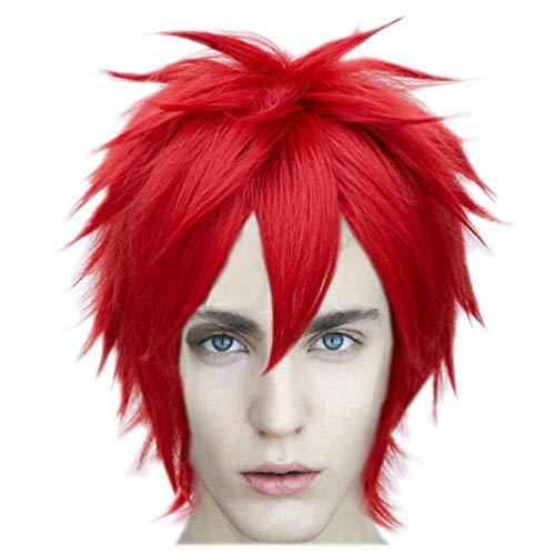 Gaara Cosplay Costumes - Wgior Anime Natural as Real Hair