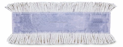 Wilen C404036, E-Line Tie-Free Disposable Untreated Dust Mop, 36'' Length x 5'' Width (Case of 12)
