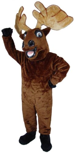 Mr. Moose Mascot Costume -