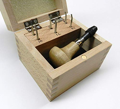 MILGRAIN Wheels Set of 6 MILLGRAIN Tools and Handle Boxed #'s 4 6 8 10 12 14