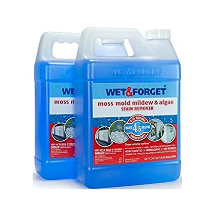 Set of 2 Wet and Forget Moss, Mildew and Algae Stain Remover (2) by Wet & Forget Moss