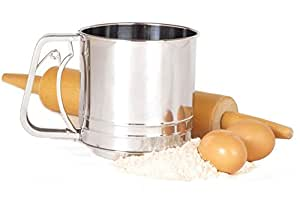 Norpro 131 Professional Stainless Steel Deluxe 5 Cup Flour Sifter