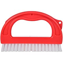 Grout Brush Cleaner, Tile Grout Cleaning Scrubber for Shower, Floors, Window Track and Kitchen