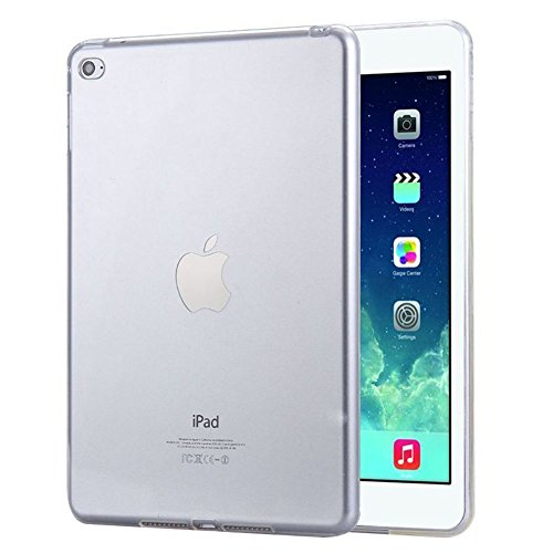 CHENYU HD Clear Case,TPU Shock-Absorption Bumper ,Anti-scratching Slide-Proof Protection Case for ipad mini4 (transparent) Anti Shock Protection