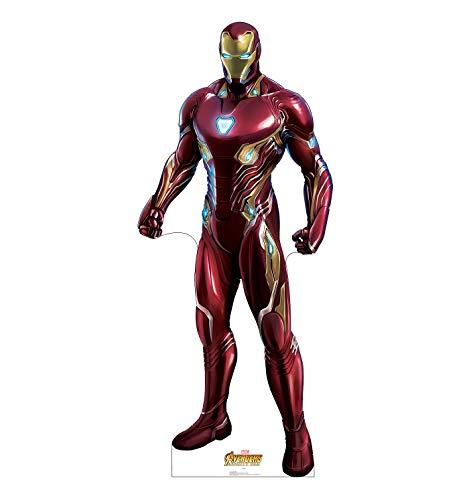 Advanced Graphics Iron Man Life Size Cardboard Cutout Standup - Marvel's Avengers: Infinity War (2018 Film) ()