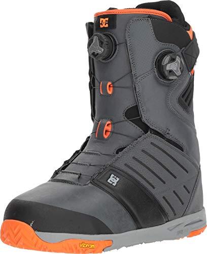 DC Men's Judge '18 Grey 9 D US (Dc Snowboarding Boots)