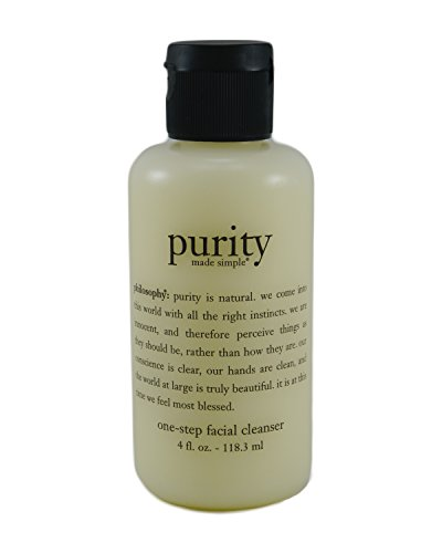 Cleansers One Step Facial Cleanser (Philosophy Purity Made Simple One-Step Facial Cleanser - 4 Oz)