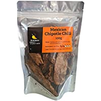 Poblano Mexican Chipotle Dry Chillies, 100 g