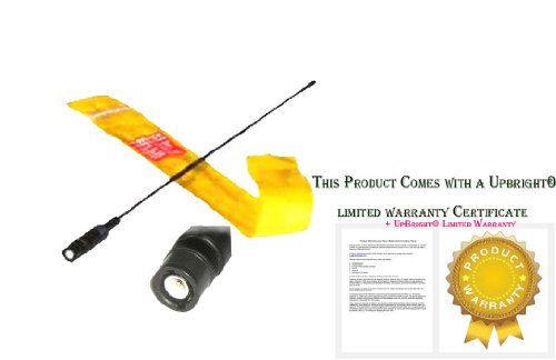 "UpBright 16"" Dual Band Radio BNC Antenna For Uniden BC72XLT, BC75XLT, BC92XLT, BC95XLT, BC125AT, BC246T, BC296D, SC230 Portable Handheld Scanner"