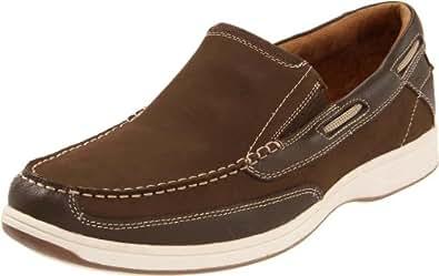 Florsheim Men's Lakeside Slip Boat Shoe, Brown, 7 M US