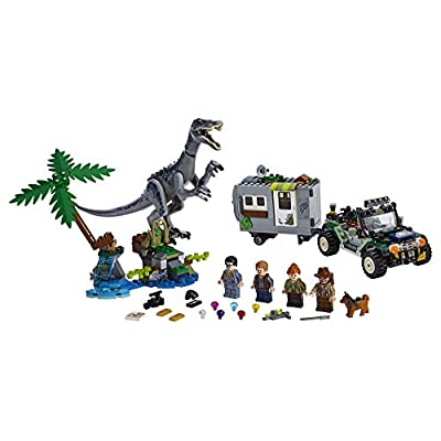 LEGO Jurassic World Baryonyx Face Off: The Treasure Hunt 75935 Building Kit (434 Pieces): Toys & Games