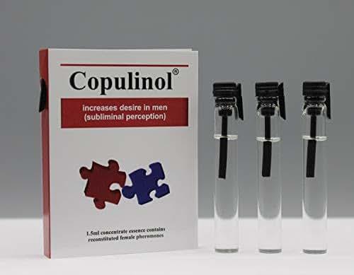 COPULINOL0.05 Fl. Oz+0.05 Fl. Oz+0.05 Fl. Oz 100% Phermone for Women Attract Men Seduce Him Fast Post