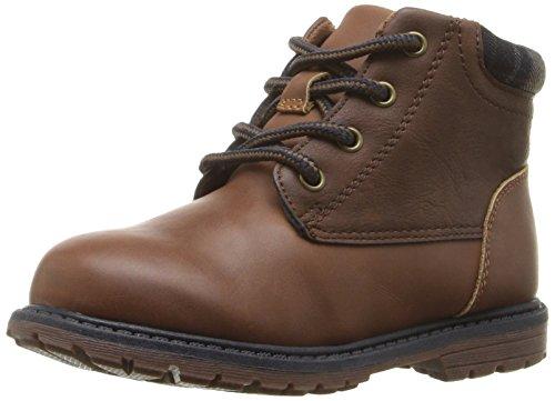 [OshKosh B'Gosh Boys' Chandler Boot, Brown, 7 M US Toddler] (Boots For Boys)