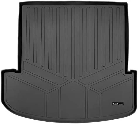 SMARTLINER All Weather Custom Fit Black Cargo Liner Behind the 2nd Row Compatible With 2020-2022 Kia Telluride