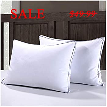 Amazon Com Homelike Moment Down Feather Pillow For