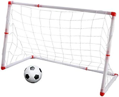 Portería de Balón de Fútbol con Marco Reforzado Juguete al Aire ...