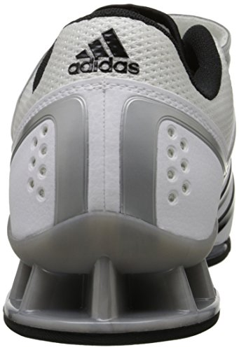 S adidas Performance White Adipower Grey Trainer Shoe Tech Metallic Core Weightlifting Black rrP4dFq