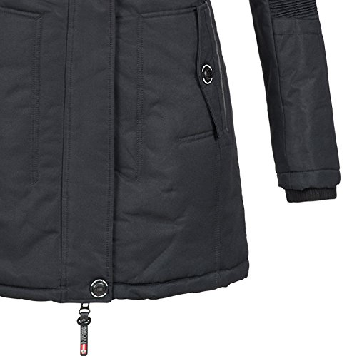 Geographical Norway Noir Norway Femme Manteau Manteau Geographical d518qwzw