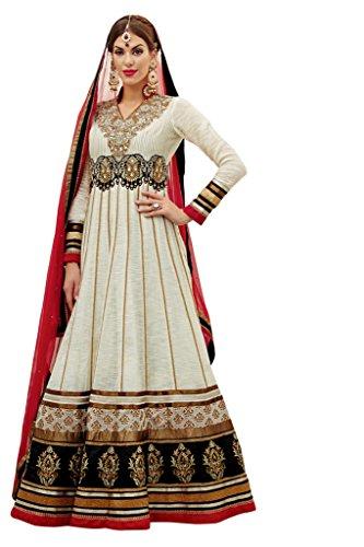 Ladyline Women's Designer Wedding Anarkali Salwar Kameez Suit Indian Pakistani XL Multicoloured