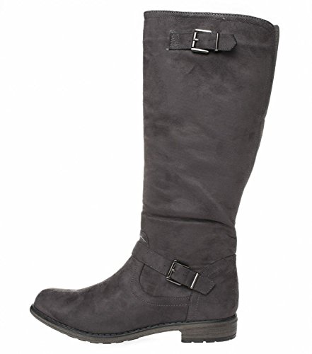 Vanessa Übergrößen Fitters Schuhe Damen Stiefel Footwear Grau in 5xA8qfx