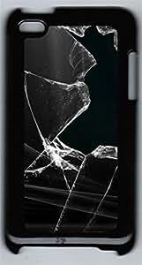 iPod 4Case Black Glass PC Custom iPod 4Case Cover Black