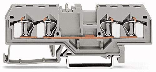Wago 281-653 4-Conductor Through Terminal Block: Amazon com