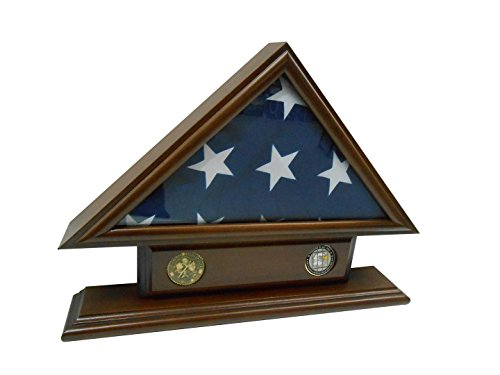 5×9-Flag-Case-for-Veteran-Funeral-Burial-Flag-With-Name-Tag-and-2-Coin-Holder