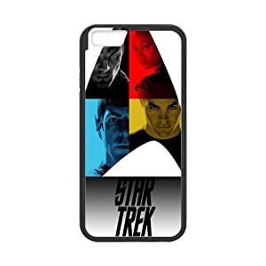 [Perfect-Fit] iPhone 6 Case, [star trek] iPhone 6 (4.7) Case Custom Durable Case Cover for iPhone6 TPU case(Laser Technology)