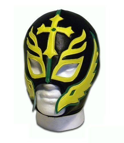 Son of the Devil Caribe adult Luchador Lucha libre Mexico wrestling mask by Luchadora by Luchadora