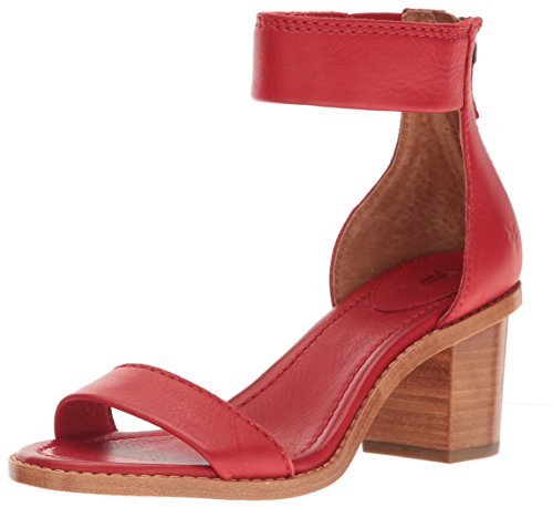 FRYE Women's Brielle Back Zip Dress Sandal