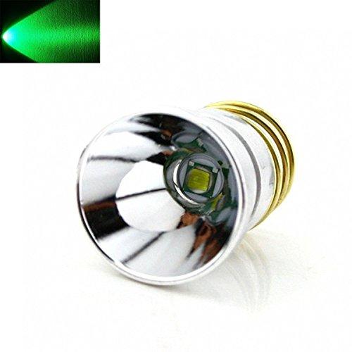 BESTSUN Ultra Bright Green Light Hunting Flashlight Cree LED Bulb 1 Mode Drop-in P60 Design Module Torch Repair Parts Replacement Bulb for Surefire Hugsby C2 G2 Z2 6P 9P G3 S3 D2 Ultrafire 501B 502B