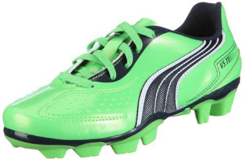 Puma v5.11 r MG Jr 102343 Unisex - Kinder Sportschuhe - Fußball Grün/fluo green-midnight navy-
