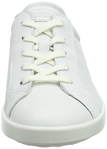 Ecco Aimee, Derbys Femme Blanc (White/Muted Clay)