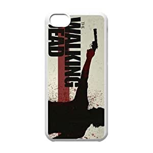 New Fashion Hard Back Cover Case for iPhone 5C with New Printed Walking Dead